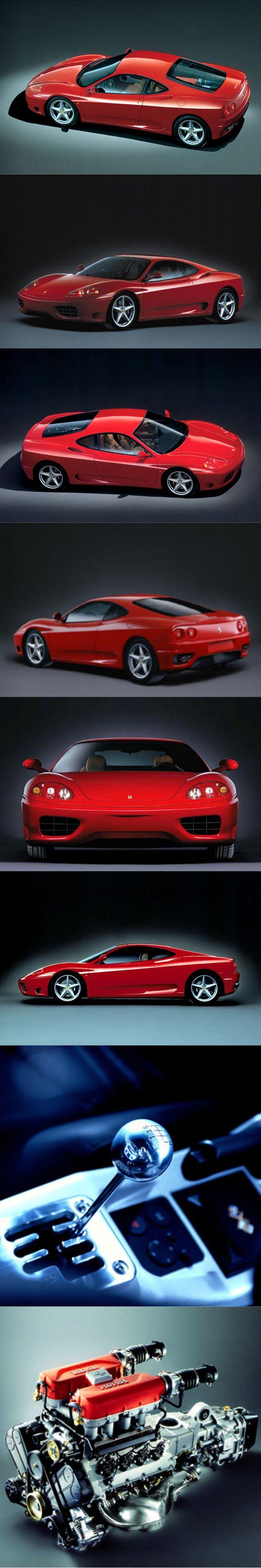 1999 Ferrari 360 Modena / 395hp 3.6l V8 / Italy / red