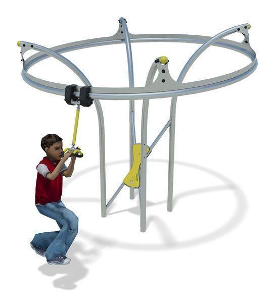 Stainless Steel playground equipment - Air Glider