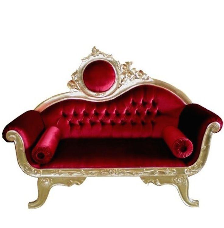 12 best fauteuil baroque rouge vente ou location images. Black Bedroom Furniture Sets. Home Design Ideas