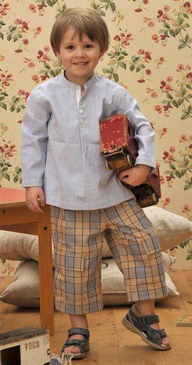 Sy bondeskjorte og bukser til din lille prins