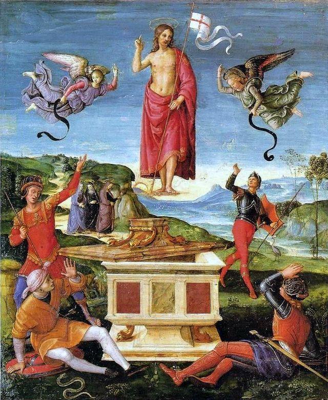 Rafael - ressureicaocristo01 - Resurrection of Jesus - Wikipedia, the free encyclopedia