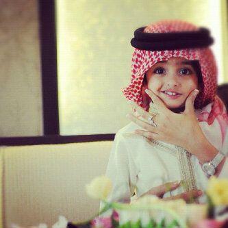 Muslim baby Qatari
