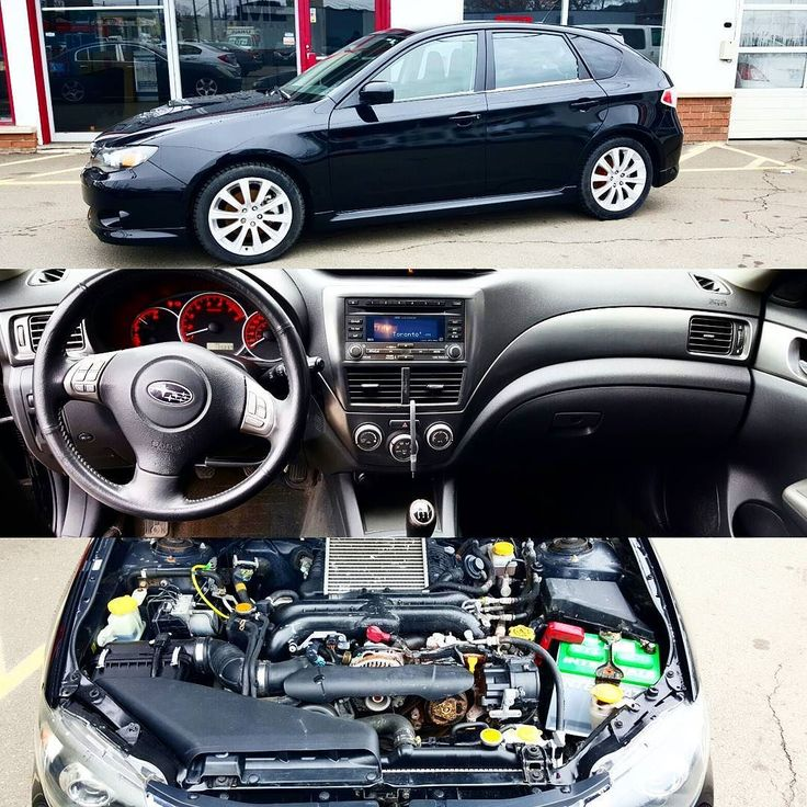 2008 Subaru Impreza WRX 130237km All Wheel Drive 5 Speed Manual  Transmission 2.5L 4 Cylinder