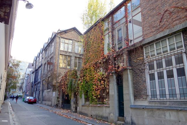 Paris 15e - La Ruche, cité d'artistes bourdonnante et souvenirs piquants de Montparnasse - passage de Dantzig - XVème | Paris la douce