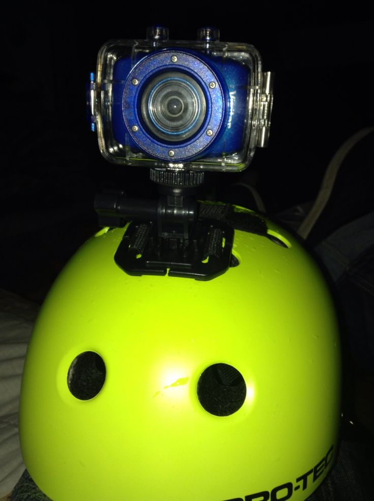 My Gopro and Helmet!