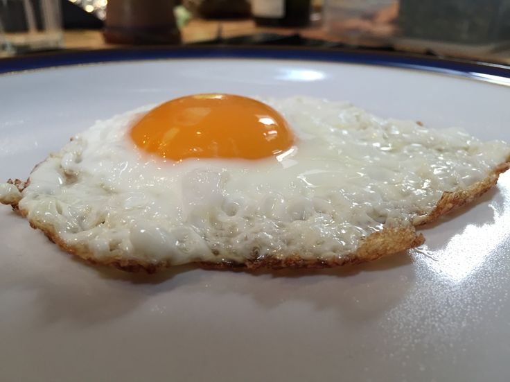The perfectly fried egg
