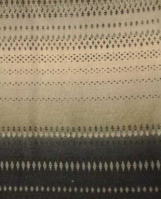 1235/2 Black Stripe   RJR Fabrics   Yuko Hasegawa   Misty Lights