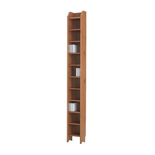 IKEA - ЛЕКСВИК, Стойка для компакт-дисков, , Вмещает 200 компакт-дисков.</t><t>Массив дерева – прочный натуральный материал.