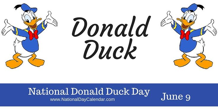 """Have anyone in your life that can mimic Donald with """"Oh boy, oh boy, oh boy."""" #DonaldDuckDay"""
