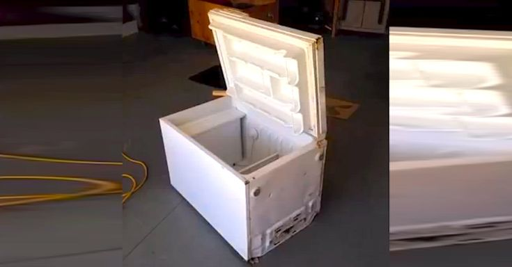 Here at LittleThings, we absolutely love it when people repurpose old household items into stuff that's not only new-and-improved, but also functional. This DIY project is no exception, as the end result is an affordable-yet-awesomely-rustic ice chest/cooler that was once an old, beat-up refrigerator. Watch as Elliot presents a video slideshow showing how he turned... View Article