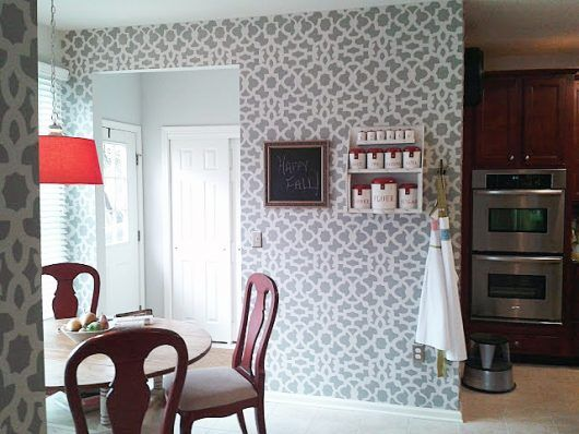 29 Best Images About Stenciled Kitchens Amp Kitchens I Love On Pinterest Painted Patterns