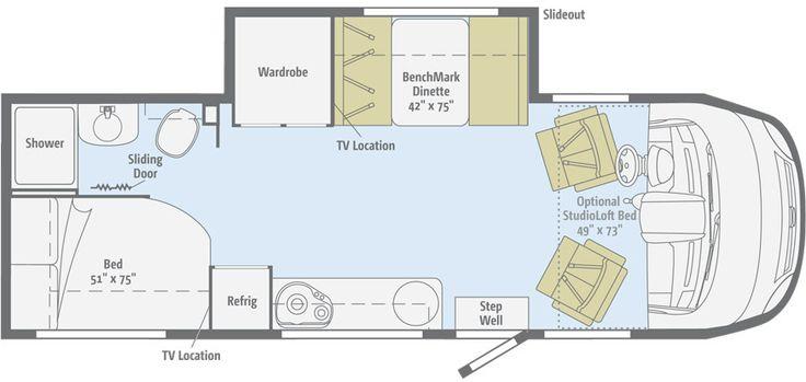 itasca motorhomes floor plans | Itasca Motorhomes - 2014 Reyo