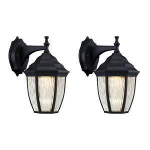 172 best house building images on pinterest exterior lighting hampton bay black outdoor led wall lantern 2 pack mozeypictures Images