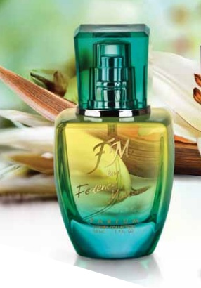 FM 305 | Charming scent  which combines notes of  bergamot, rhubarb, rose,  patchouli and tuberose.    PERFUME 50 ml  (fragrance 20%)  £21.99