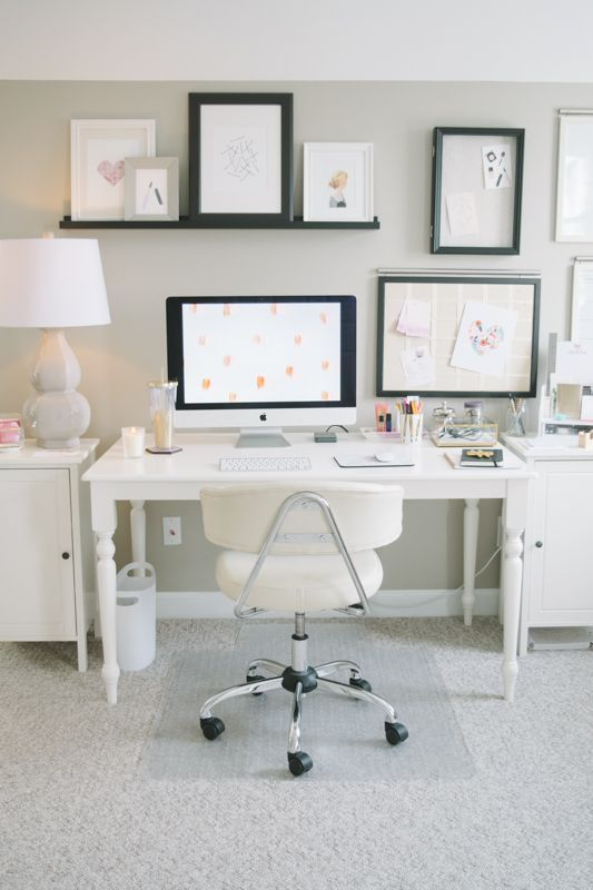My Work Space | Home Office Hack | Small home offices