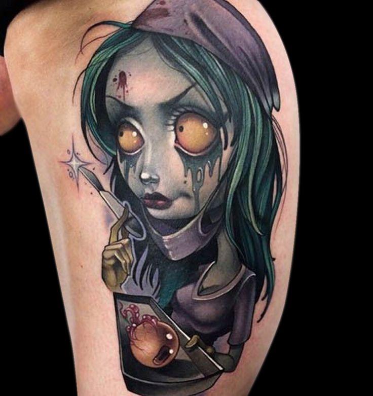 Les 48 meilleures images du tableau new school sur pinterest designs de tatouage id es de - Dessin new school ...