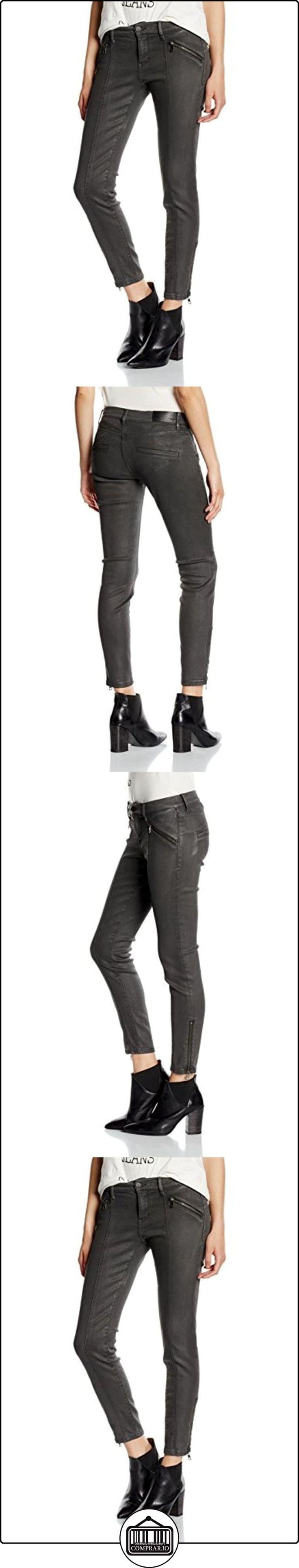 Calvin Klein Jeans Moto City Skinny, Azul para Mujer, Schwarz (Extreme Tumbled Black 914), W26  ✿ Vaqueros ✿