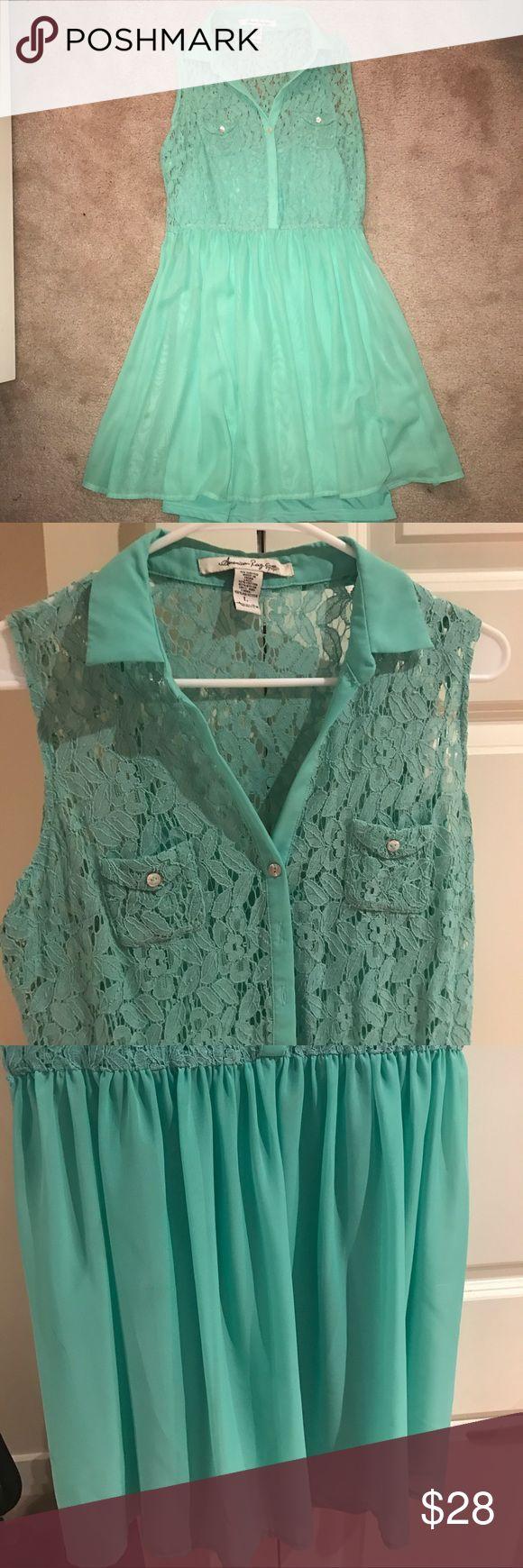 Womens' American Rag dress Super cute mint green American Rag dress. American Rag Dresses