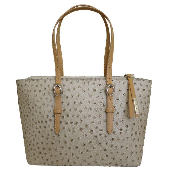 Exotic Ostrich Leather Handbag 2017 Summer Trent