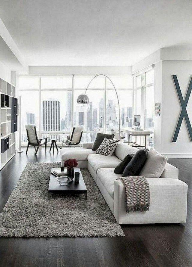 70+ Tiny Apartment Living Room Decor Ideas #livingroom