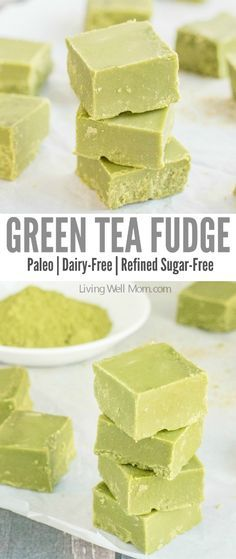 Love green tea? You won't be able to resist this incredibly easy Green Tea Fudge recipe. It's rich, satisfying, and provides a nice energy boost, thanks to the matcha green tea powder. Plus this recipe is Paleo, meaning it's dairy-free, refined sugar-free and grain-free!