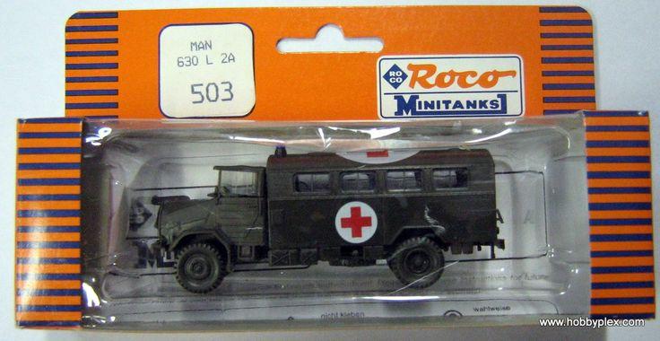 ROCO MINITANKS # 503 - MAN 630 L 2A - Click Image to Close