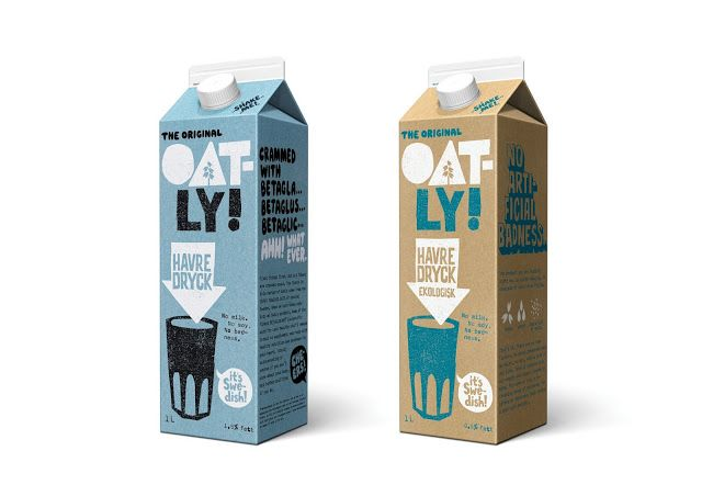 Oatly on Packaging of the World - Creative Package Design Gallery