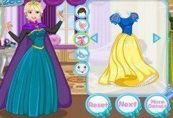 Juego Vestir y maquillar princesas Disney Gratis