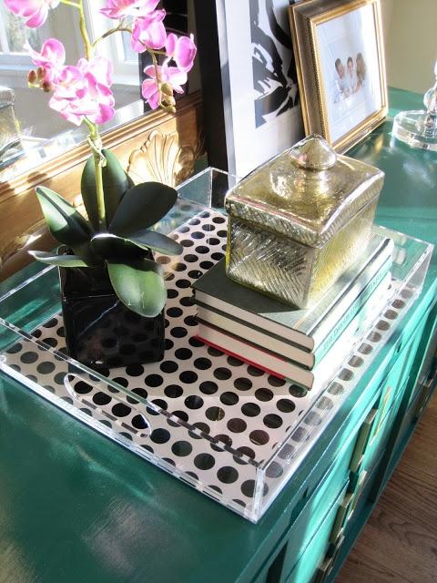 Simple Details: emerald green dresser makeover...