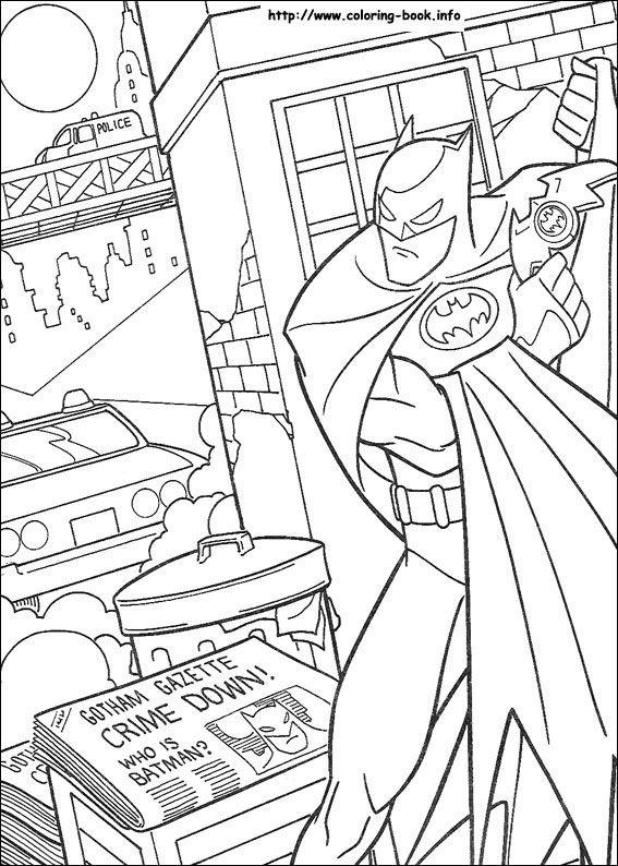 15 best images about Batman Coloring Pages on Pinterest ...