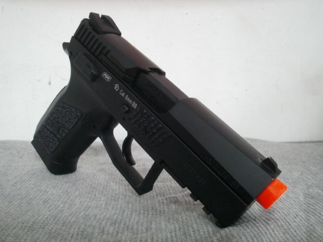 Take a gander at this CZ 75D COMPACT Gas Blow Back CO2 Pistol by ASG.. For more info..