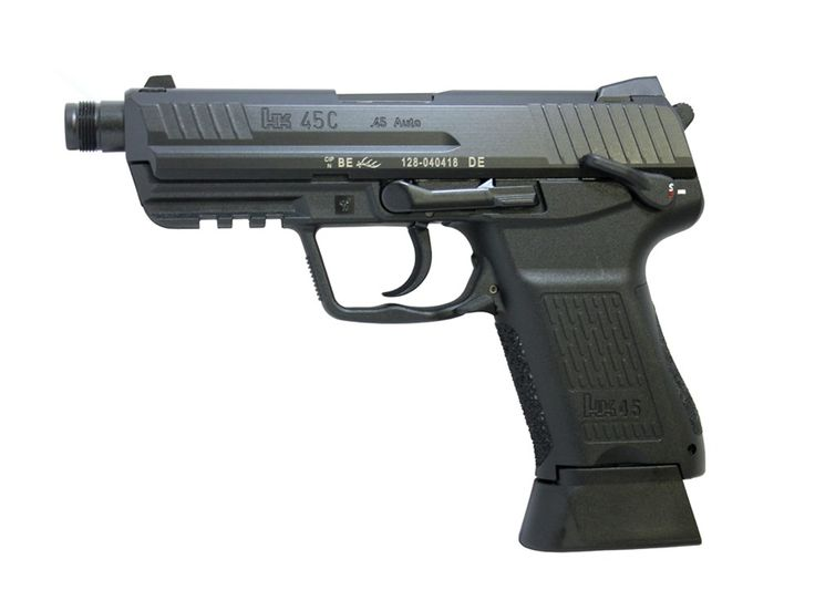 "Wolverine Supplies - Online Gun Store | Product Details | H&K HK45 Compact SD .45 ACP 4.53"" Threaded Barrel Black"