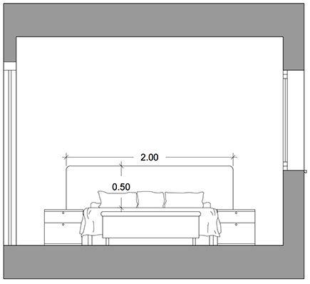 Las 25 mejores ideas sobre medidas de camas en pinterest for Cama 3 4 medidas