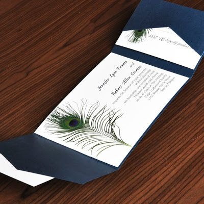 Cheap Peacock Wedding Invitations                                                                                                                                                     More
