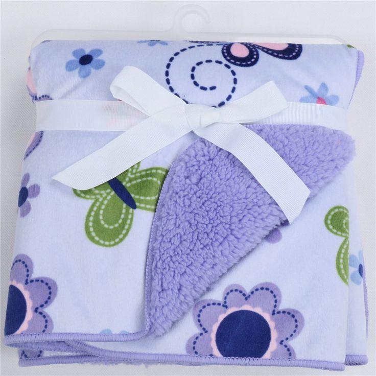 Детские одеяла 2016 новый утолщаются двойной слой ватки младенец пеленание Bebe конверт коляска завернуть для новорожденных детское постельное белье одеяло