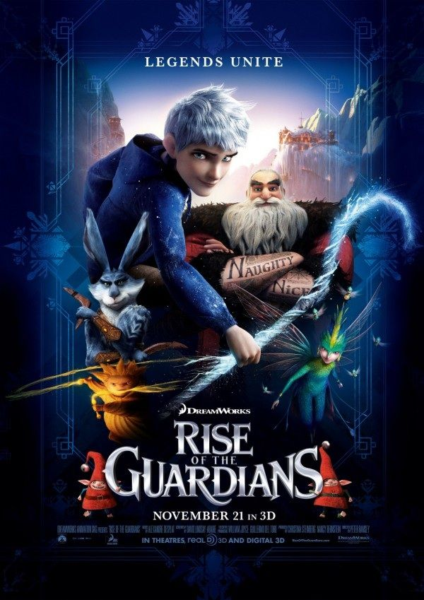 Rise of the Guardians (2nd poster