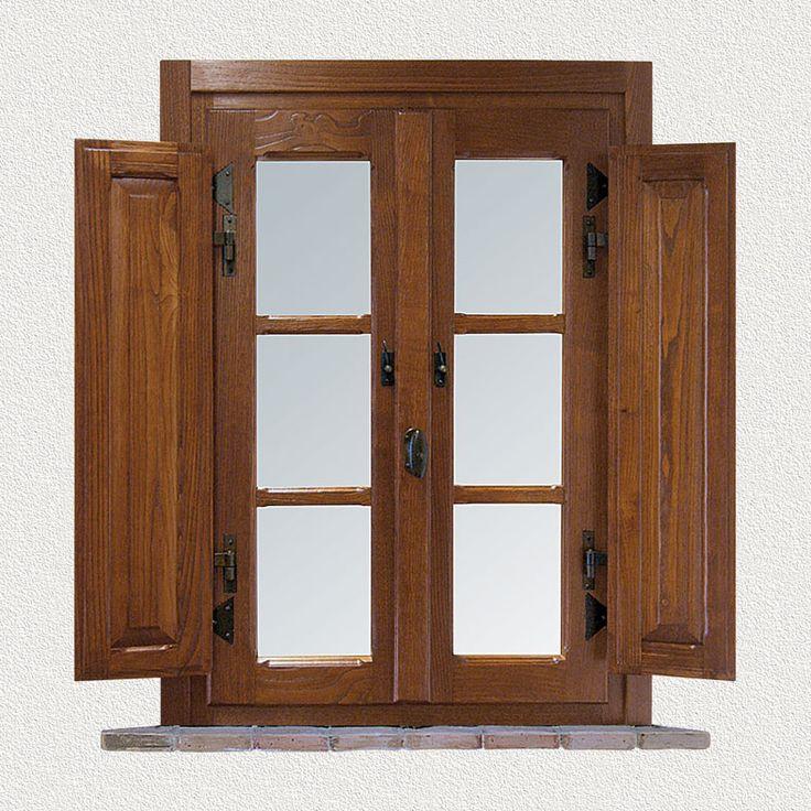 CMB Infissi finestra in legno mod. Casale