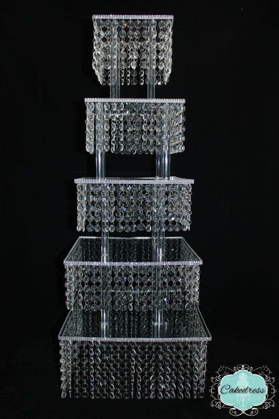 square tiered wedding cake stands best 25 bling cupcakes ideas on cake 20377