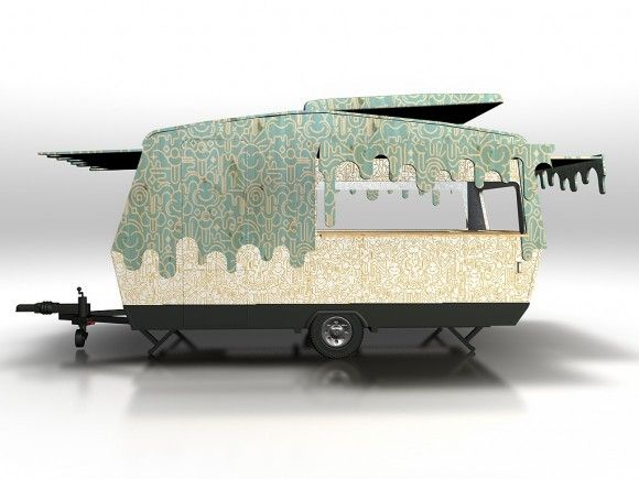 Ever thought of turning your caravan in to a mobile mural?