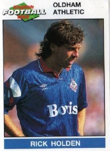 OLDHAM ATHLETIC - Rick Holden #178 PANINI English Football 1992 Collectable Sticker