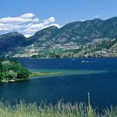 Okanagan Falls and Skaha Lake, Tourism BC/Don Weixl photo