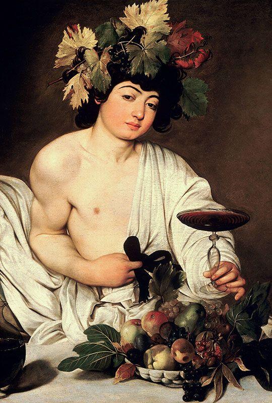 Caravaggio · Bacchus  http://casaprints.com/fr/172-caravaggio