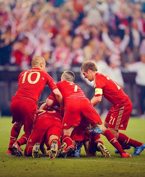 Bayern Munchen 2 x 1 Borussia Dortmund - Champions League Final 2012/13