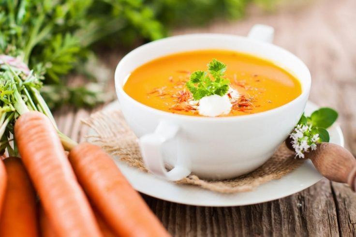 Soupe à la carotte et au lait de coco à la mijoteuse