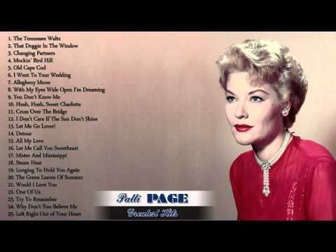 Patti Page's Greatest Hits | The Best Of Patti Page - YouTube