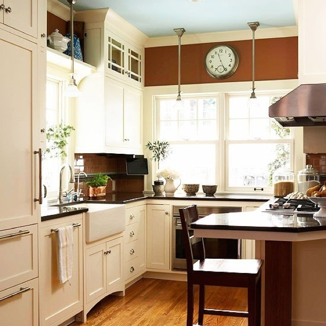Blue Kitchen Ceiling: 10 Best French Blue And Cream Kitchen Images On Pinterest