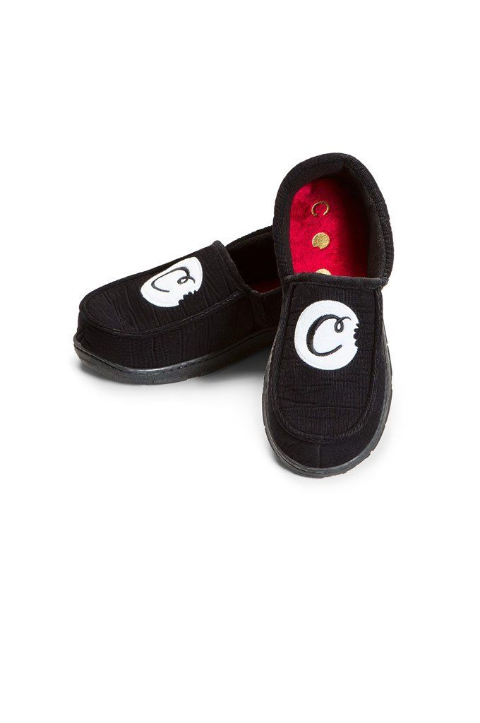 c49c0208e9 ...  CookiesSF  Slippers - The Wake and Bake House Shoes from Cookies SF  are soft corduroy house shoes with embroidered logo on top and rubber soles.
