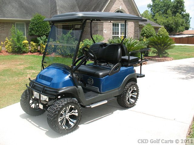 recently modified and sold ez go and club car golf carts