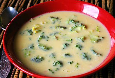 zadanie - gotowanie: Zupa serowa z brokułami.