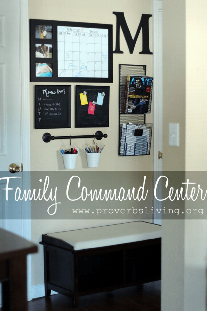 Family Command Center | Jessica McLain